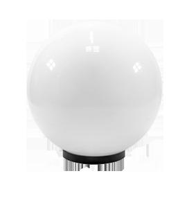 светодиодный светильник шар молочный предназначен для освещения дорожек