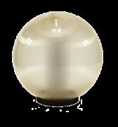светодиодный светильник шар золотистый предназначен для паркового освещения