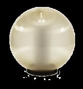 светодиодный светильник шар золотистый предназначен для садового освещения